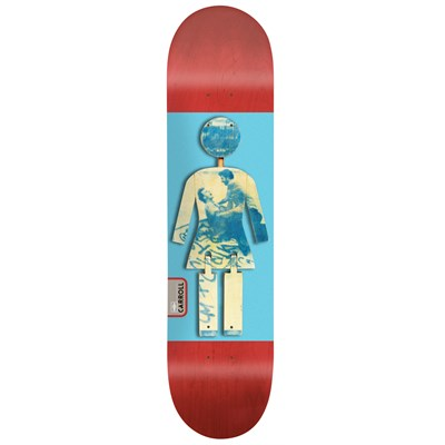 Girl Mike Carroll On Exhibit 8.125 Skateboard Deck