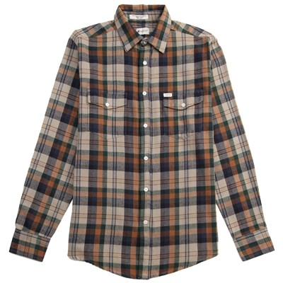 Matix Brooklyn Long-Sleeve Button-Down Flannel