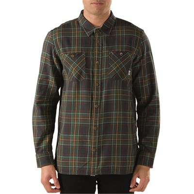 Vans Birch Long-Sleeve Button-Down Shirt