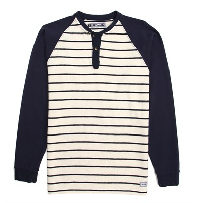 SUPERbrand Flow Henley Long Sleeve Knit