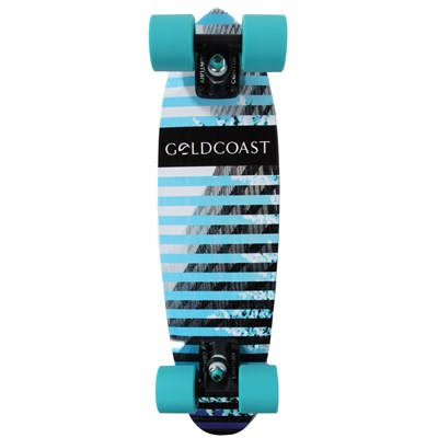Gold Coast Conflict Blue Longboard Complete 2013