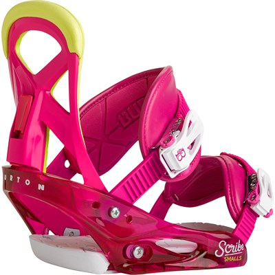 Burton Scribe Smalls Snowboard Bindings - Girl's 2015