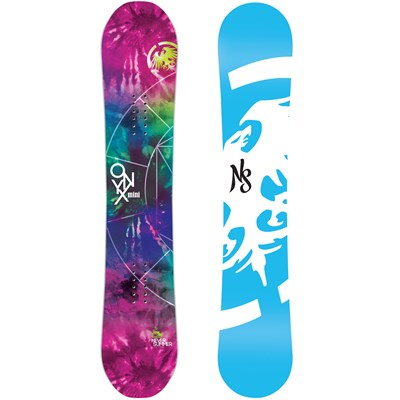 Never Summer Onyx Mini Snowboard - Girl's 2015