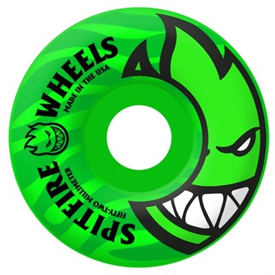 Spitfire Bighead Tonals Neon Green 99a Skateboard Wheels