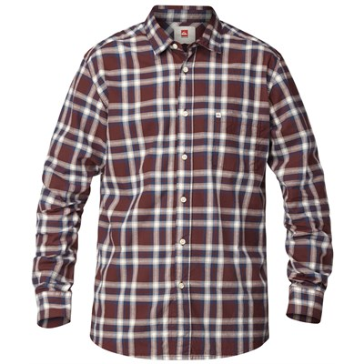 Quiksilver Biscay Long-Sleeve Button-Down Shirt