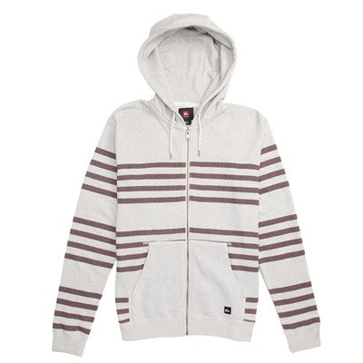 Quiksilver Major Stripes Full Zip Sweatshirt