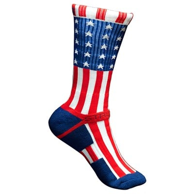 Strideline Patriot Crew Socks