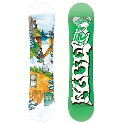 Flow Micron Mini Snowboard - Kid's 2015