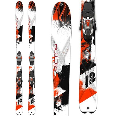 K2 AMP Rictor 90XTi Skis + MXC 14 Bindings 2015