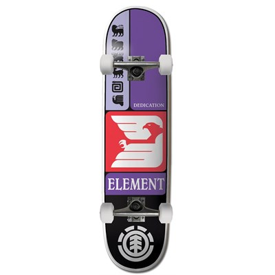 Element Prismatic Logo 7.6 Skateboard Complete