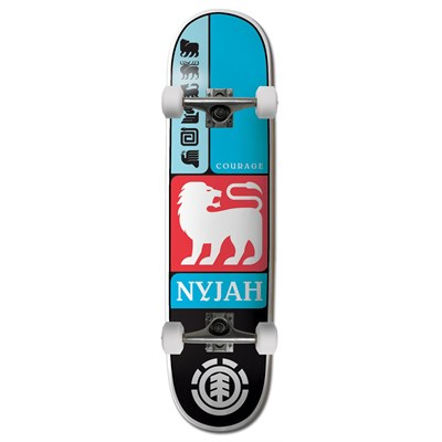 Element Nyjah Prismatic 7.75 Skateboard Complete