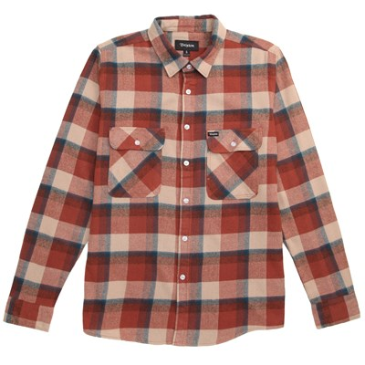 Brixton Bowery Long-Sleeve Button-Down Flannel