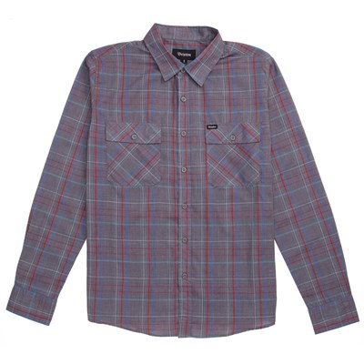 Brixton Memphis Long-Sleeve Button-Down Shirt