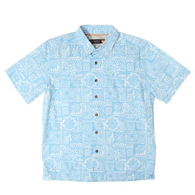 Quiksilver Island Life S/S Button Down Shirt