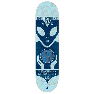 Alien Workshop Sacred Geometry Dyrdek 7.875 Skateboard Deck