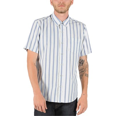 Volcom Weirdoh Stripe Short-Sleeve Button-Down Shirt