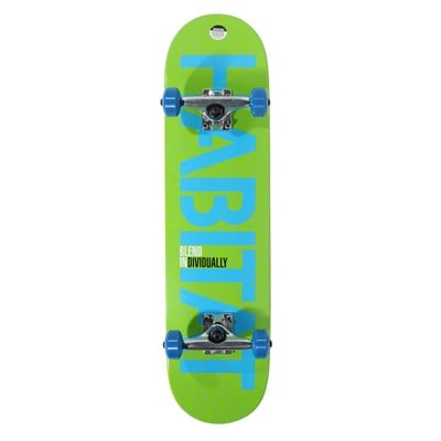 Habitat Blend Individually Skateboard Complete