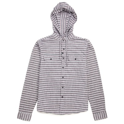 Imperial Motion Greyson Hooded Long-Seeve Button-Down Shirt
