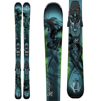 K2 Potion 84XTi Skis + ERC 11 TC Bindings - Women's 2015