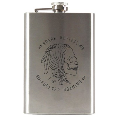 Roark Hobo Nickel Flask