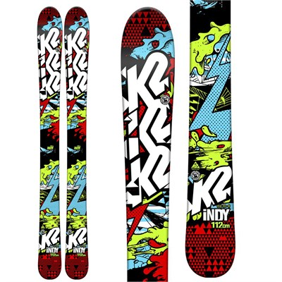 K2 Indy Skis - Boy's 2015