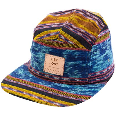 Spacecraft Get Lost 5-Panel Hat