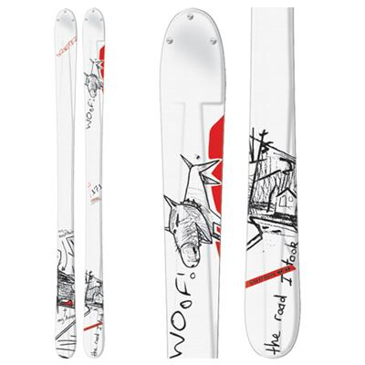 Salomon Teneighty Thruster Skis 2007