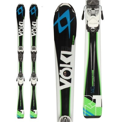 Volkl RTM Jr Skis + 3Motion Jr 7.0 Bindings - Boy's 2015