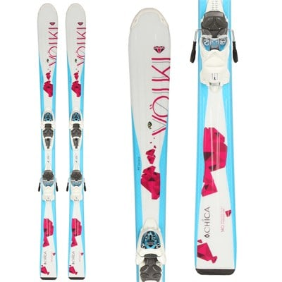 Volkl Chica Skis + 3Motion Jr 4.5 Bindings - Girl's 2015