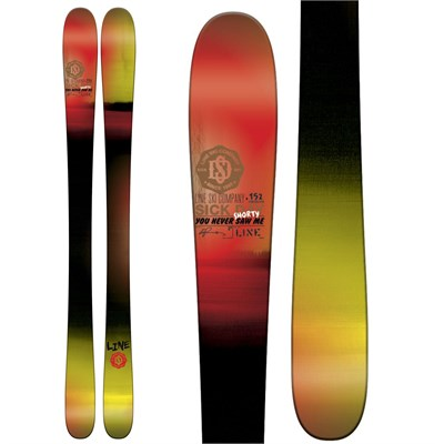 Line Skis Sick Day Shorty Skis - Boy's 2015