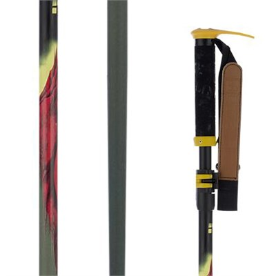 Line Skis Pollard's Paint Brush Adjustable Ski Poles 2015