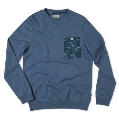 Altamont Wavy Crew Fleece