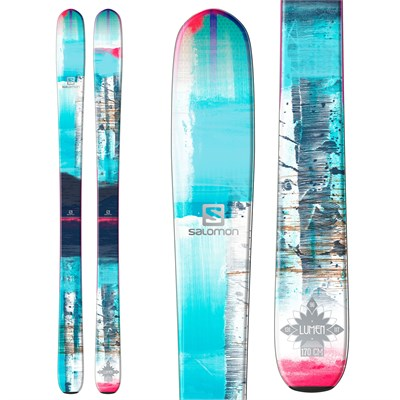 Salomon Q-96 Lumen Skis - Women's 2015