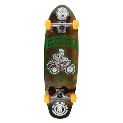 Element Timber Keep Discovering Cruiser Longboard Complete