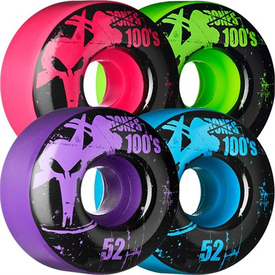 Bones 100's Skateboard Wheels
