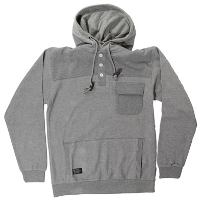 Matix Road Taker Pullover Henley Hoodie
