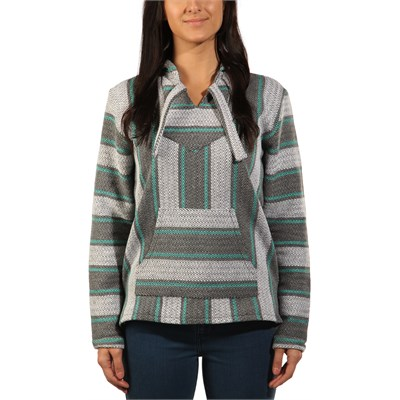 Senor Lopez Pullover Hooded Poncho - Women's