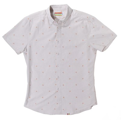 slvdr Tomichi Short-Sleeve Oxford Button-Down Shirt