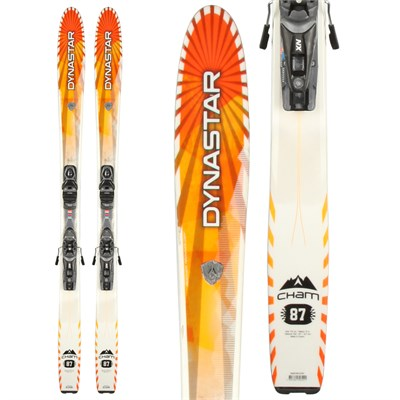 Dynastar Cham 87 Skis + NX 10 Demo Bindings - Used 2013