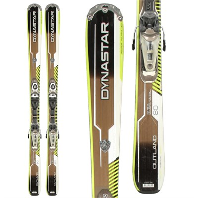 Dynastar Outland 80 Skis + NX11 Demo Bindings - Used 2013