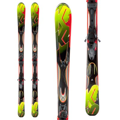 K2 Rictor Skis + Marker MX 12 Demo Bindings - Used 2013