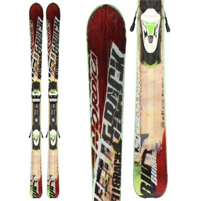 Nordica Burner Skis + N Evo 11 Demo Bindings - Used 2013