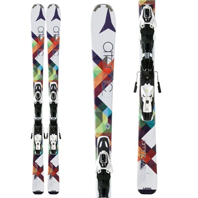 Atomic Affinity Air Skis + XTO 10 Demo Bindings - Used - Women's 2013