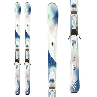 K2 Superific Skis + Marker MX 11 Demo Bindings - Used - Women's 2014