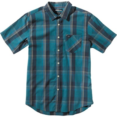 RVCA Goldy Short-Sleeve Button-Down Shirt