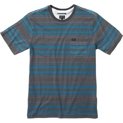 RVCA Hairy Stripe Crew T-Shirt