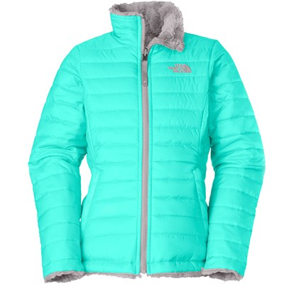 The North Face Reversible Mossbud Swirl Jacket - Girl's