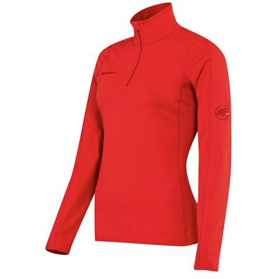 Mammut Snow Zip Longsleeve Top - Women's
