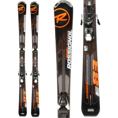 Rossignol Experience 83 Skis + Atomic XT 10 Demo Bindings - Used 2013