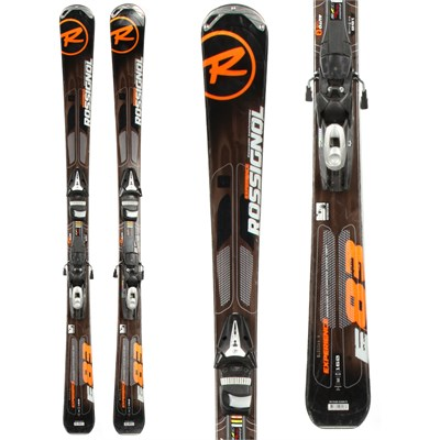 Rossignol Experience 83 Skis + Tyrolia SP 100 Demo Bindings - Used 2012